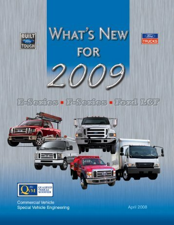 """2009 Ford Truck """"What's New"""" - Ford Fleet"""