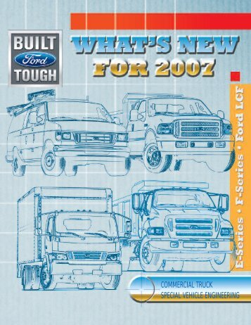 commercial truck special vehicle engineering - Ford Fleet