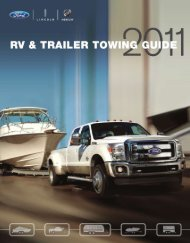 2011 Towing Guide - Ford Fleet
