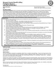 Application Package - Broward Sheriff's Office - Online Employment ...