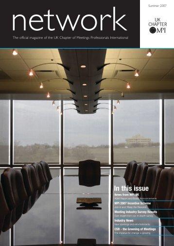 MPI Network Magazine - The Tin