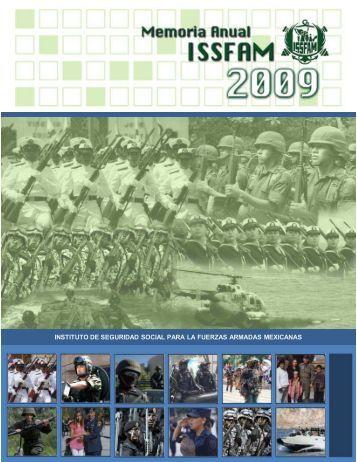 Memoria Anual 2009 - Issfam