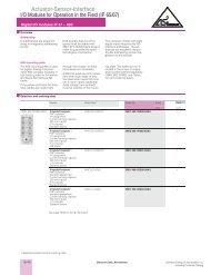 Digital I/O Modules IP 67-K60 - Siemens
