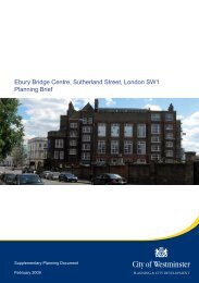 Ebury Planning Brief cover.indd - Westminster City Council