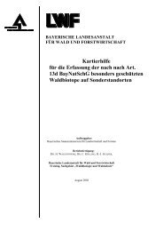 Kartierhilfe für die  Erfassung der nach nach Art. 13d ... - Bayern