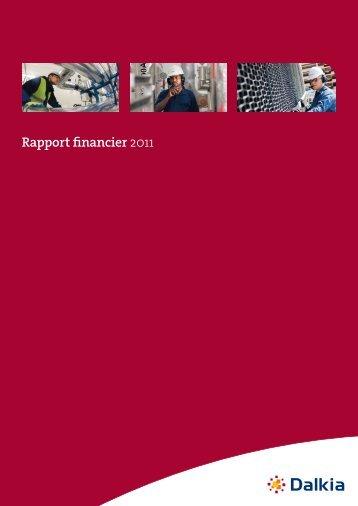 Téléchargez le rapport financier 2011 - Dalkia