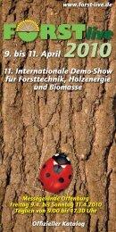 Ausstellerverz 2010 - K2.indd - Forst Live