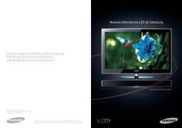 Nuevos televisores LED de Samsung - Supersonido