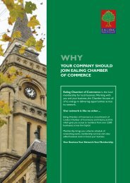 your company should join ealing chamber of commerce - London ...