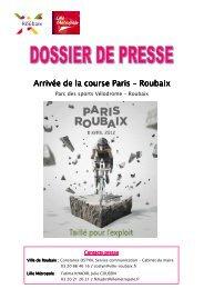 Dossier presse Paris Roubaix 2012 - Ville de Roubaix