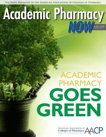Academic Pharmacy Now - AACP