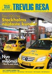 Nya miljömål - Taxi 020