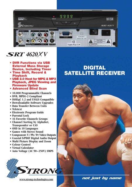 SRT 4620XV Brochure - Strong Technologies