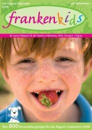 """""""groß"""" sein - Familienmagazin frankenkids"""
