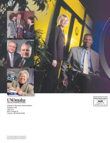 cba annual review 2001 - UNO CBA