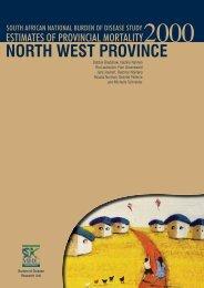 NORTH WEST PROVINCE - SA HealthInfo