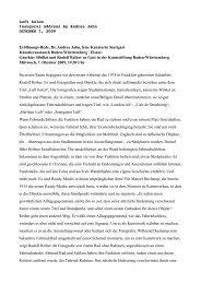 Luft holen Inaugural address by Andrea Jahn ... - Rudolf Reiber
