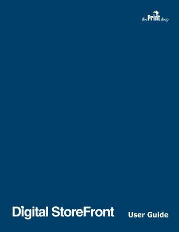 Digital StoreFront User Guide - Algonquin College