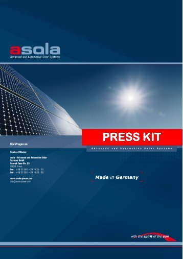 asola-press kit
