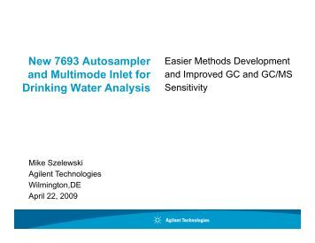 Agilent Technologies 2100 User Manual