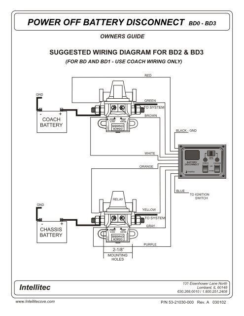 power off battery disconn on fleetwood rv battery wiring diagram