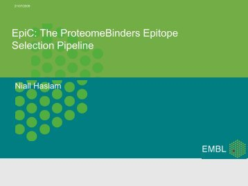EpiC: The ProteomeBinders Epitope Selection Pipeline