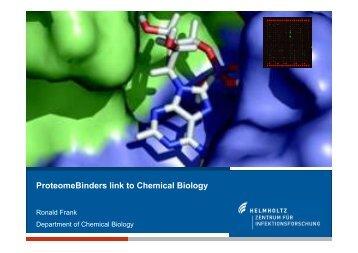 Ronald Frank - ProteomeBinders