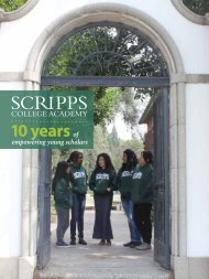 10 yearsof - Scripps College Community