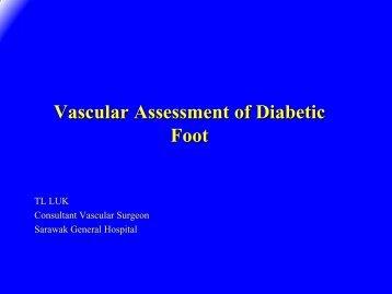 Vascular Assessment of Diabetic Foot - HKL Vascular