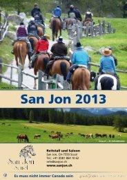 Das aktuelle Programm kannst du hier herunterladen. - San Jon
