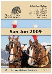 Flyer 2009 deutsch_druck:Flyer 2005 deutsch - San Jon