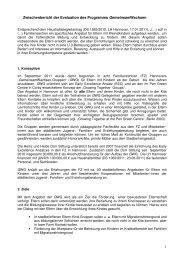 Zusammenfassung des Zwischenberichts (271 KB) - Early Excellence