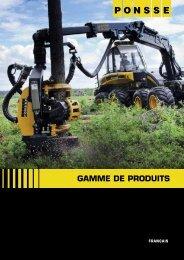 GAMME DE PRODUITS - Ponsse