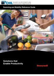 Solutions that Enable Productivity - POHL Electronic GmbH