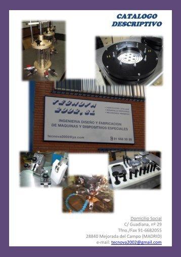 Catalogo General - Metalia