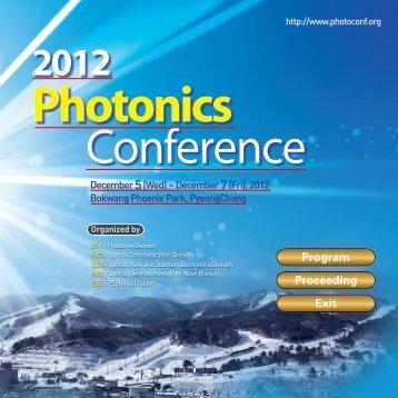 Photonics - 초고속 회로및 시스템 연구실 - 연세대학교