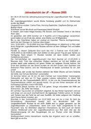 Jahresbericht 2005 der JF Russee (pdf) - Freiwillige Feuerwehr Kiel ...