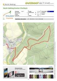 Nordic Walking Nordic Walking Strecke 2 Fischbach - Zentrum ...