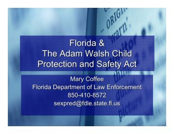 1-29-10 presentation – Coffee - Florida Department of Children and ...