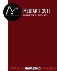 MEDIAKIT 2011 - AvaniMedia