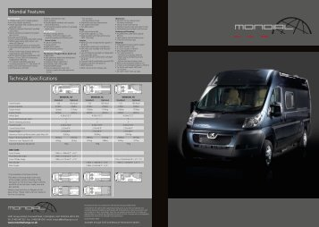 Mondial Features Technical Specifications - Swift Group