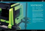seatboxes / trade catalogue - Peca