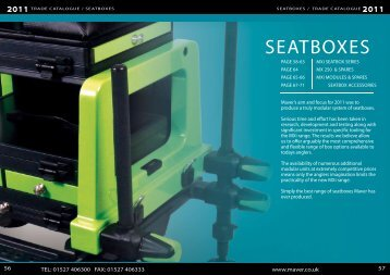 seatboxes / trade catalogue - Peca