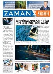 11 Kasım 2012 - Zaman Bulgaristan