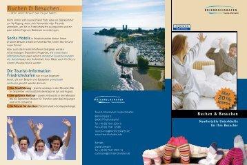 Buchen & Besuchen… 20 % - Friedrichshafen