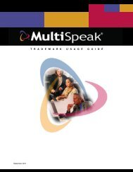 Download Complete Trademark Usage Guide - MultiSpeak