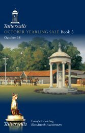 Tattersalls October Yearling Sale Book 3