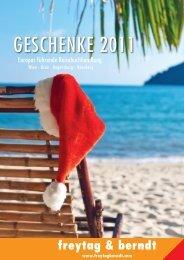 GESCHENKE www.freytagberndt.com