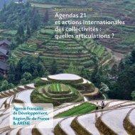 Agendas 21 et actions internationales des collectivités - Agence ...