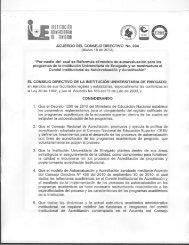 acuerdo n° 004 del consejo directivo - Institución Universitaria de ...